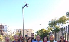 El parque de la Laguna de la Barrera de Málaga dispondrá de farolas de energía solar