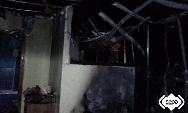 Incendio en Teverga.
