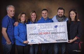 Policías de Barakaldo recaudan 25.000 euros para apoyar la lucha contra el cáncer infantil