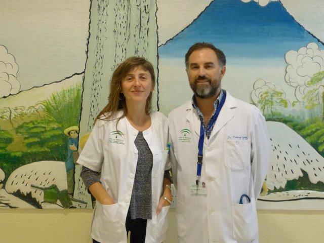 Los especialistas Carmen Paradas y Marcos Madruga