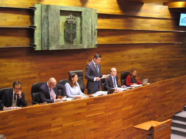 Pleno Junta General, Presupuesto 2017, enmiendas parciales.