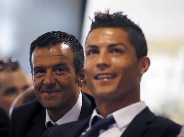 Jorge Mendes, y Cristiano Ronaldo