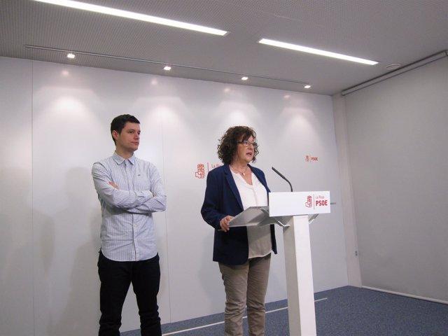 Diputados del PSOE analizan Ley Renta Ciudadanía