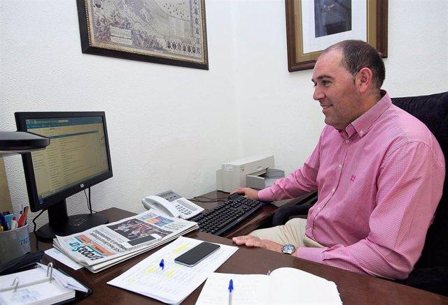 Jesús Solís, diputado provincial de Servicios Económicos en Cádiz