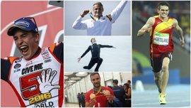 Olímpicos, paralímpicos, Márquez, Hortelano y Fernández, entre los triunfadores del año