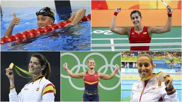 Triunfadoras del deporte español en 2016