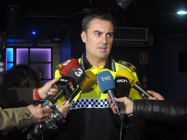 El intendente de la Guardia Urbana en el Eixample, Pedro Velázquez