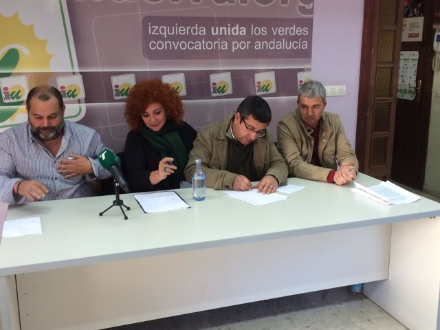 Portavoces de IU en Aljaraque
