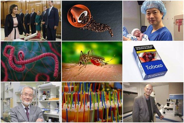 Diez acontecimientos sanitarios de 2016