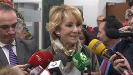 """Aguirre sí tomaría """"medidas restrictivas"""" con contaminación pero acusa a Ahora Madrid de creerse """"más listos que la OMS"""""""