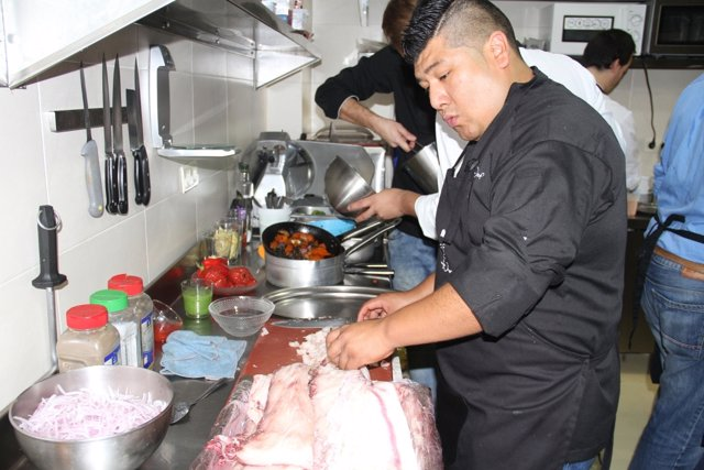 Promoción gatronómica en Huelva