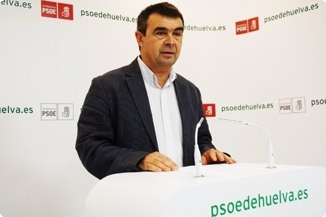 El portavoz del grupo municipal socialista de Aljaraque, José Martín.