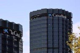 Torres de CaixaBank, en Barcelona