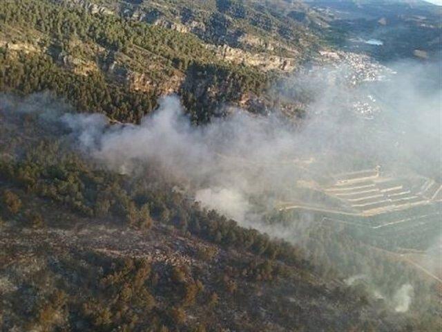 Incendio de junio en Bolbaite