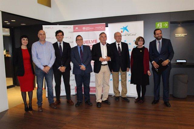 Presentación #BoteSolidario Mahos alcalde