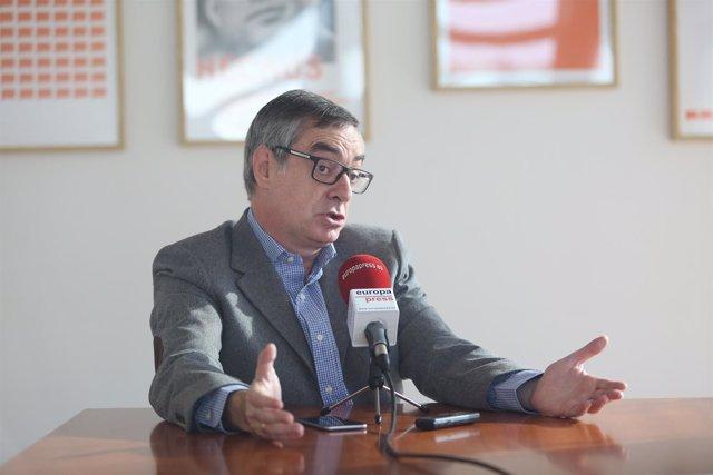 Entrevista de Europa Press a José Manuel Villegas, de Ciudadanos