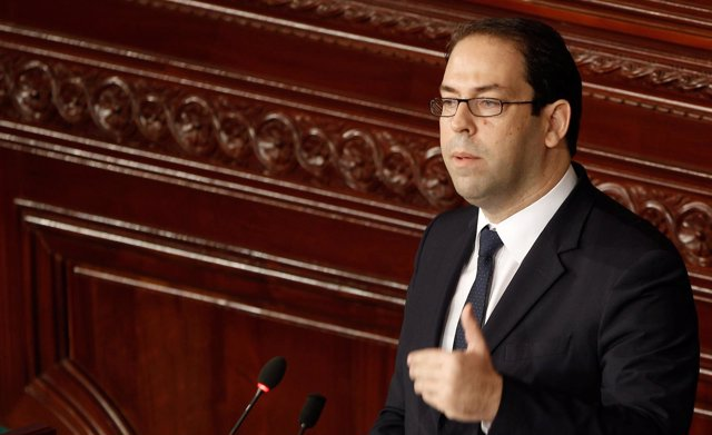 El primer ministro de Túnez, Yusef Chahed