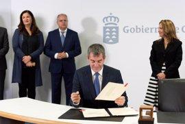 El Gobierno de Canarias materializa el Fdcan con los cabildos, ayuntamientos y las universidades