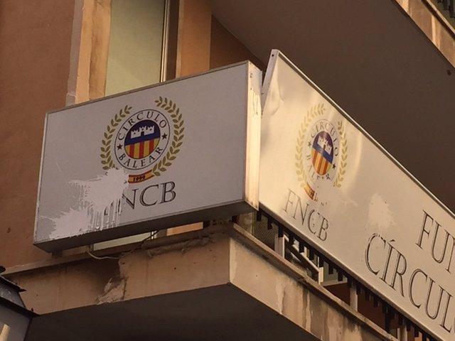 La fachada de la sede de la FNCB