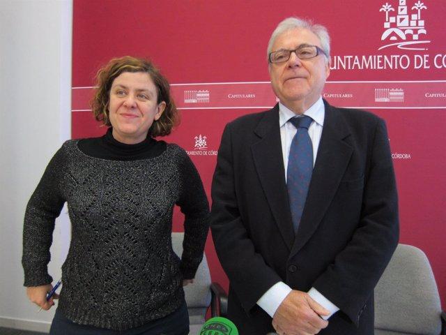 Alba Doblas y Emilio Aumente