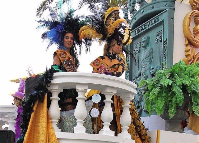Ninfas del Carnaval de Cádiz