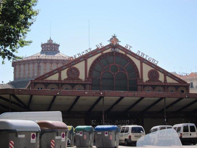 Mercado de Sant Antoni de Barcelona