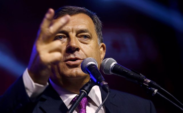 El presidente de la República Srpska, Milorad Dodik