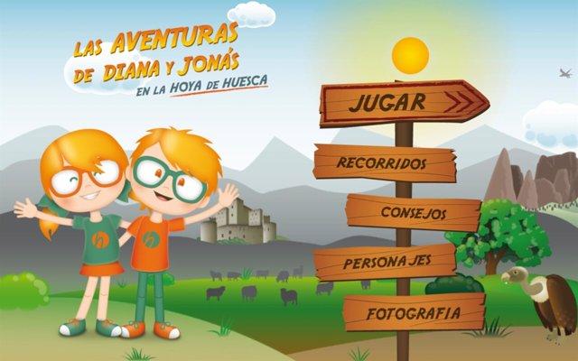 Aplicación de la Comarca de la Hoya de Huesca.