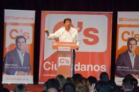 C's: El discurso de Díaz, marcado de tinte nacional, está alejado de la realidad andaluza