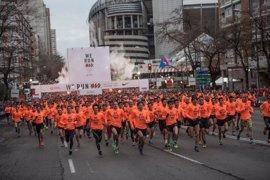 Cerca de 43.000 personas participarán este sábado en la San Silvestre Vallecana