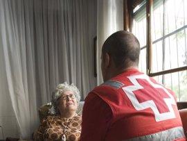 Cruz Roja apoya 3.253 personas mayores de la Región en sus propios hogares durante 2016