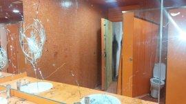 Los baños del Parque Multifuncional de San Fernando sufren un nuevo ataque vandálico
