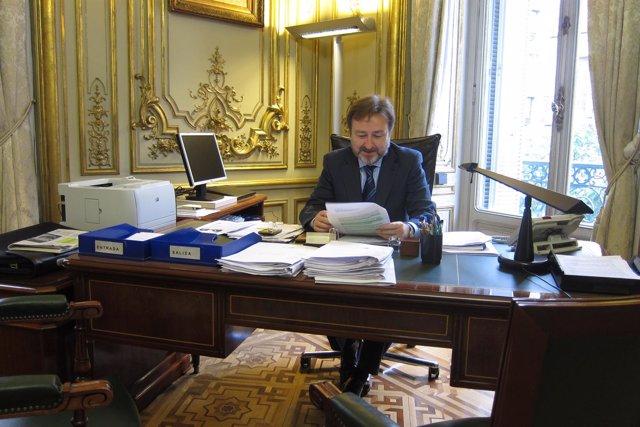 Director de Cooperación Jurídica y Relaciones con Confesiones, Javier Herrera