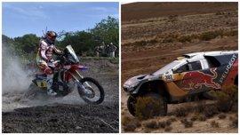 El Dakar más duro pone a prueba el hambre de Carlos Sainz y Joan Barreda