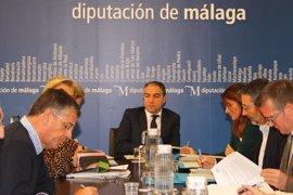 La Diputación de Málaga da luz verde a proyectos de obras por casi 7,5 millones de euros