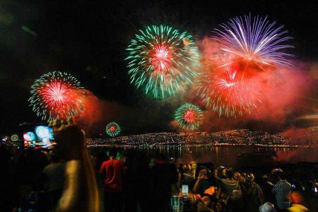 Galeria De Fotos Valparaiso Recibe A 2017 Con El Mayor Espectaculo