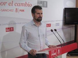"""Tudanca apostará por revertir recortes en los PGC frente al """"empecinamiento"""" del PP"""