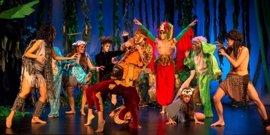 El Teatro Guimerá acoge el musical infantil 'El libro de la selva'