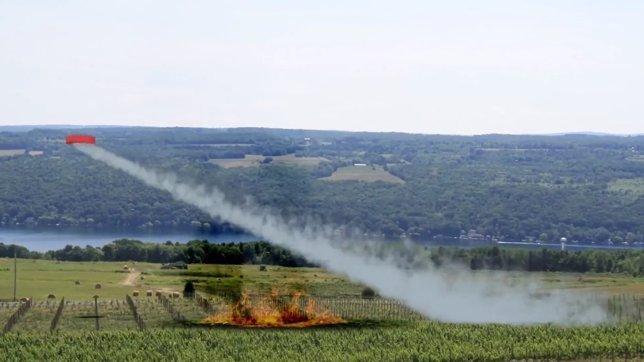 Drone Hopper, el dron para apagar incendios