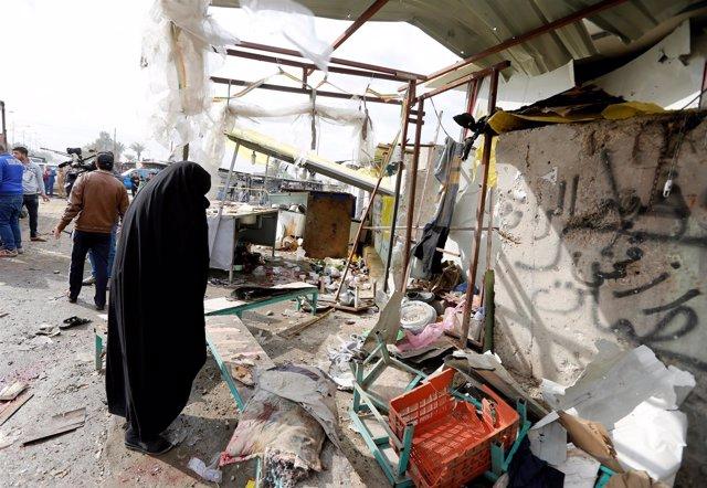 Atentado de Estado Islámico en Ciudad Sadr