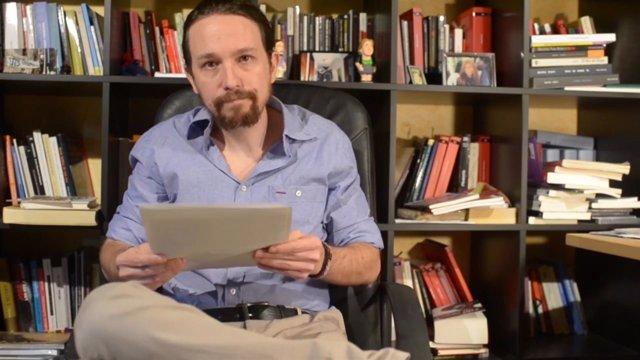 Pablo Iglesias pide perdón a sus inscritos y votantes
