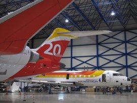 """Air Nostrum suspende desde el viernes la ruta Murcia-Madrid """"por falta de rentabilidad"""""""