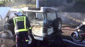 Santander apoya con 9.000 euros la labor de los bomberos voluntarios