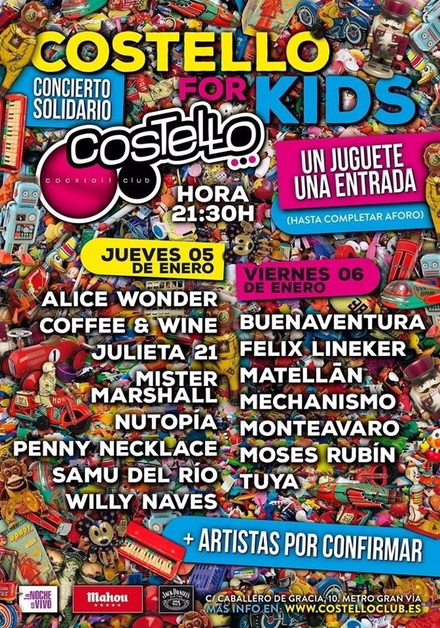 COSTELLO FOR KIDS