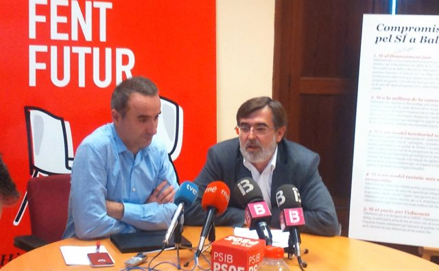 Francesc Antich y Pere Joan Pons