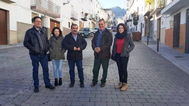 Visita de José Castro a Quesada