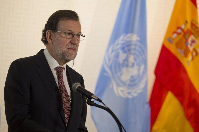 Mariano Rajoy, en Naciones Unidas