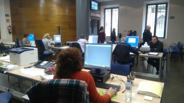 Las nuevas oficinas de Recaudación de Oviedo.