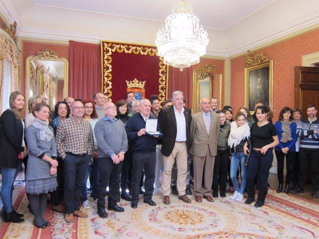 La Fundación Ilundáin Haritz Berri recibe la XV Haba de Oro