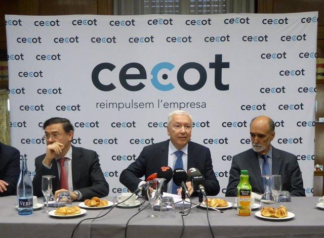 El presidente de Cecot, Antoni Abad